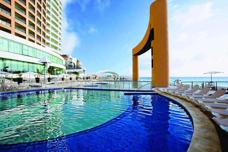 Beach Palace Hotel resort all inclusive em Cancún