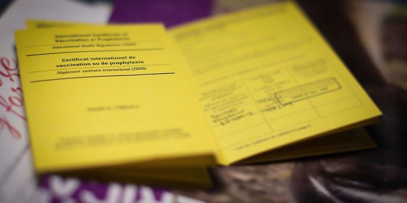 Certificado de vacinação internacional para Cancún - México