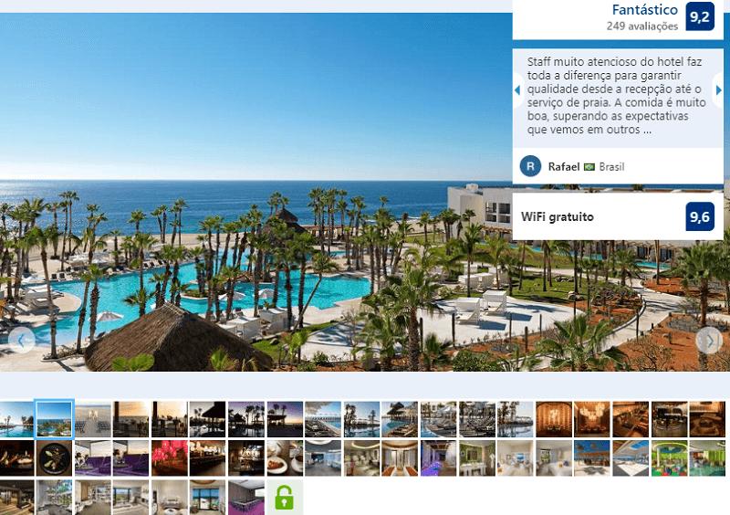 Fachada do Paradisus Los Cabos All Inclusive em Los Cabos em Cabo San Lucas