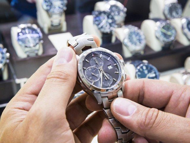 Onde comprar relógios em Chicago