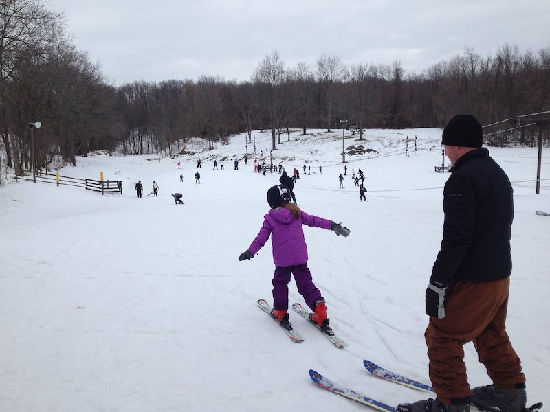 Pista de esqui Swiss Valley Ski & Snowboard Area em Jones