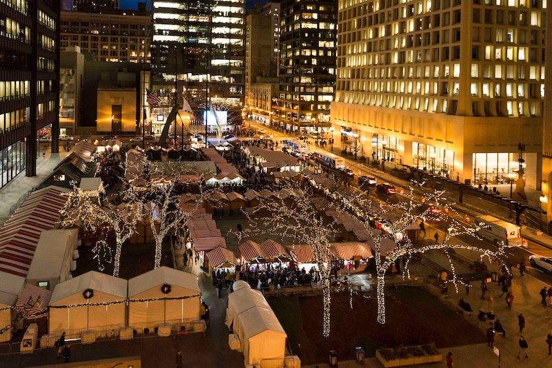 Natal em Chicago: Christkindlmarket