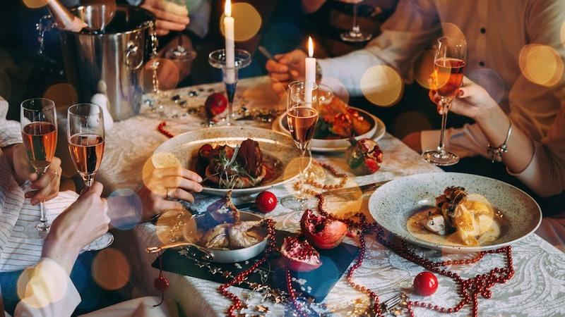 Ano Novo em Chicago: comida