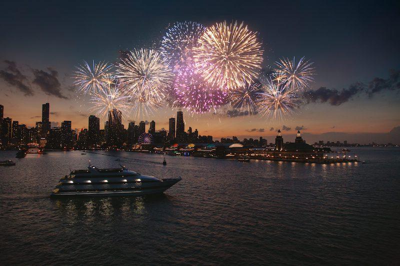 Ano Novo em Chicago: cruzeiro Odyssey Cruises
