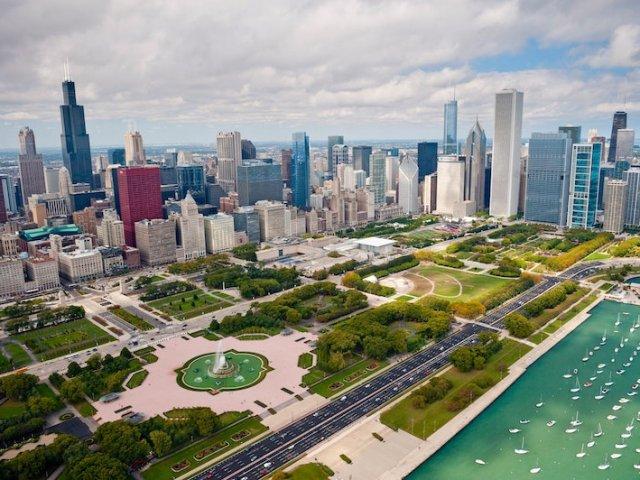 Grant Park em Chicago