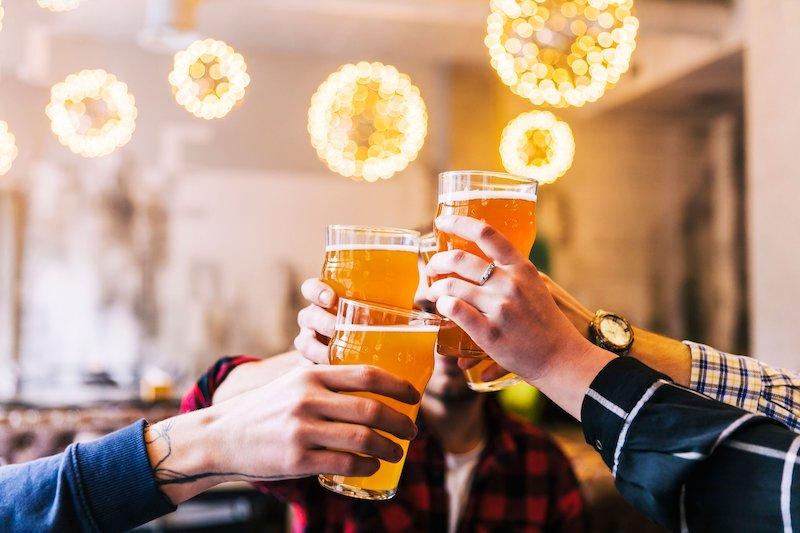 Ano Novo em Chicago: pub crawl