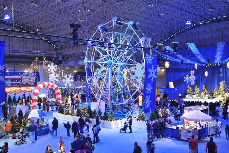 Natal em Chicago: Winter WonderFest no Navy Pier