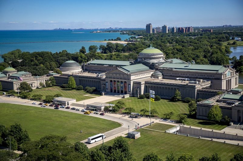 Museum of Science and Industry em Chicago: área do museu