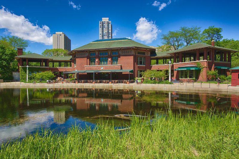Lincoln Park Zoo em Chicago: Cafe Brauer
