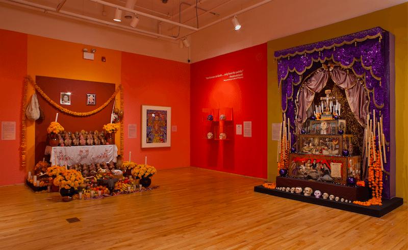 Día de los Muertos no National Museum of Mexican Art em Chicago