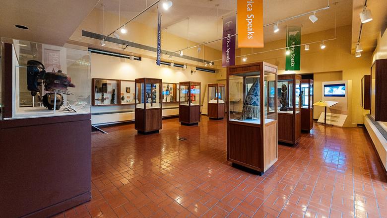 Exposição no DuSable Museum of African American History em Chicago