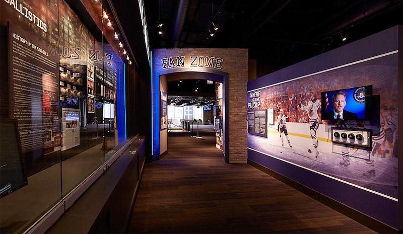 Interior do Chicago Sports Museum