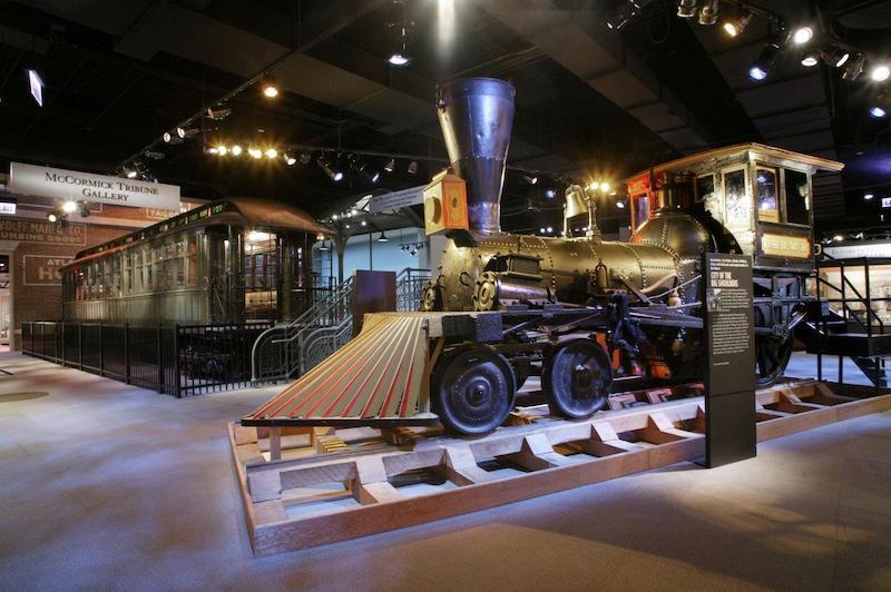 Chicago History Museum: trem