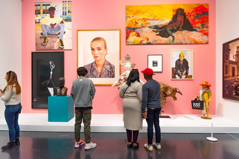 Museum of Contemporary Art em Chicago: visitantes