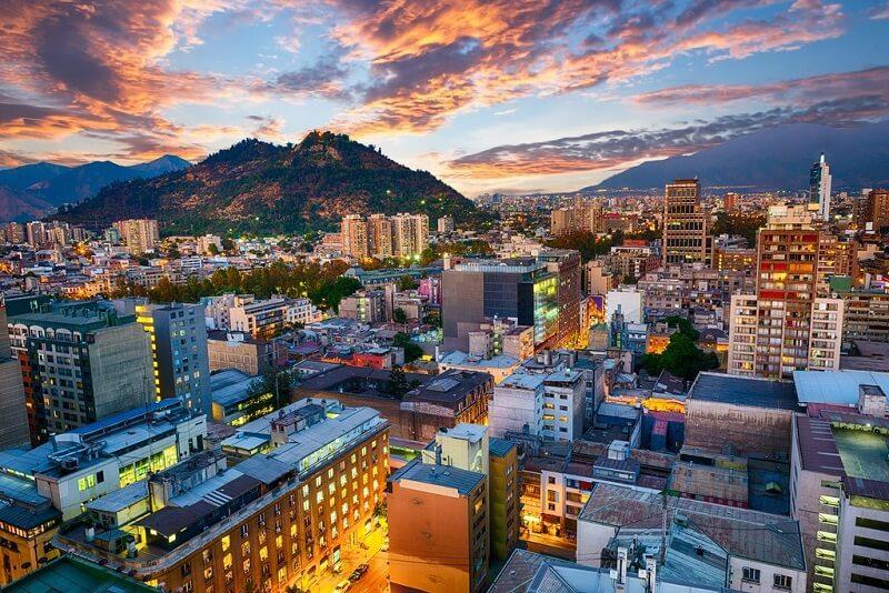 Santiago do Chile - Clima