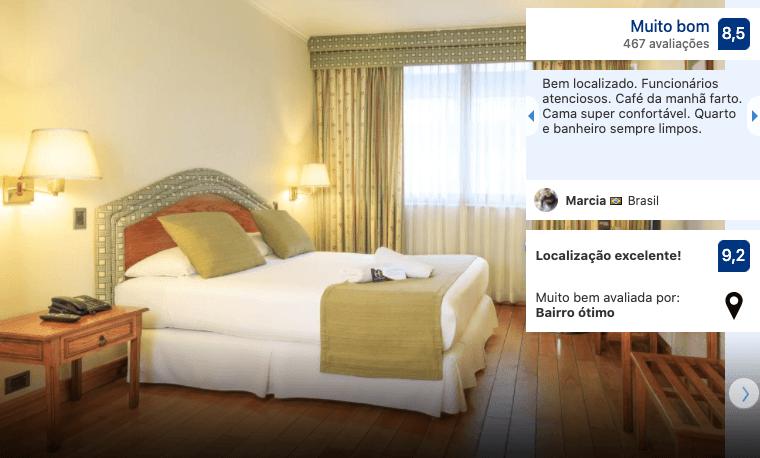 Hotel Frontera Clásico em Temuco
