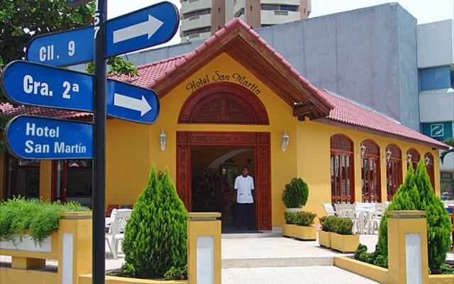 Avenida San Martín em Cartagena