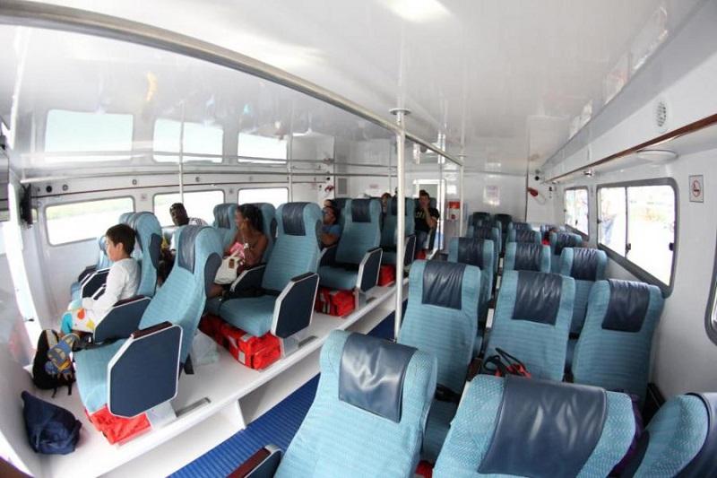 Viagens de ferries na Ilha de Providência