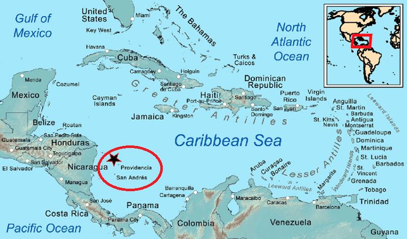Mapa - Colômbia