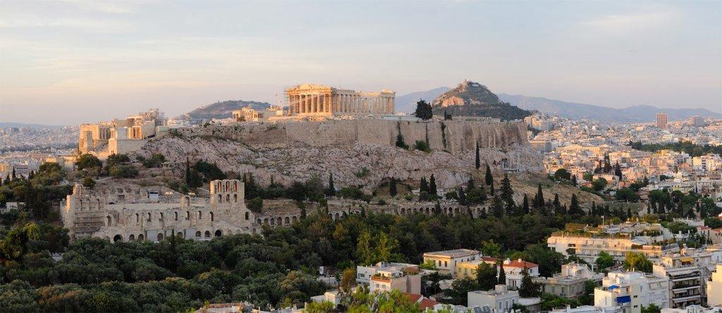 Estrutura da Acrópole de Atenas