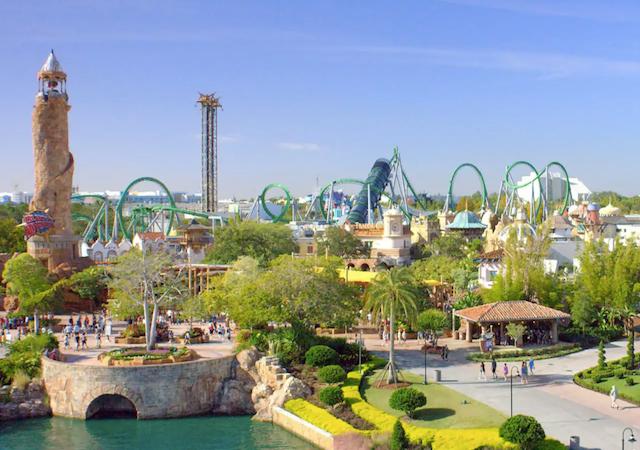 Ingressos dos parques de Orlando