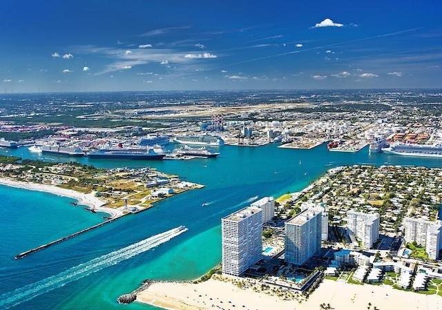Principais destinos de ferry saindo de Fort Lauderdale
