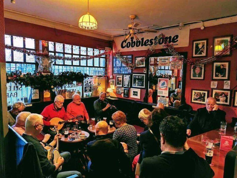 Pub The Cobblestone em Dublin