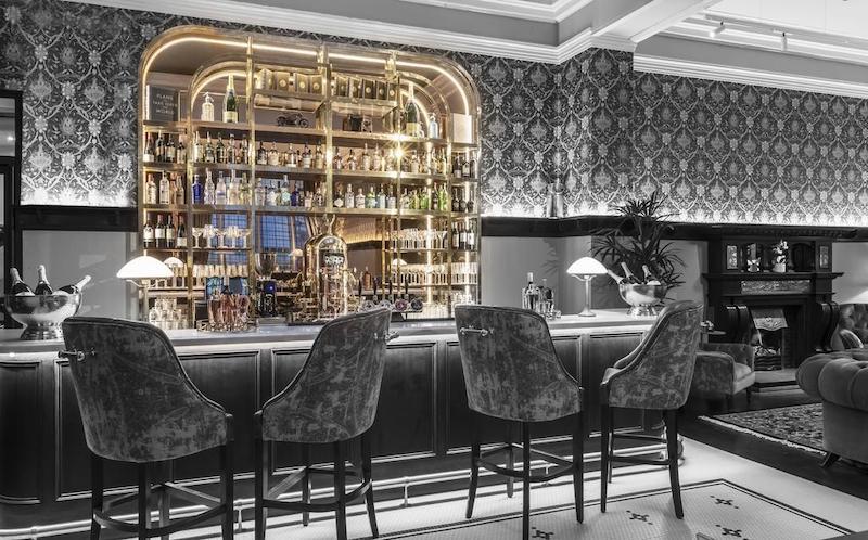 Bar do hotel The Fleet em Dublin