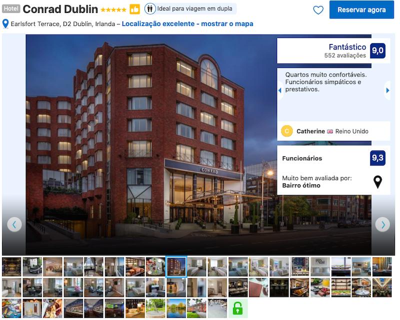 Hotel Conrad em Dublin