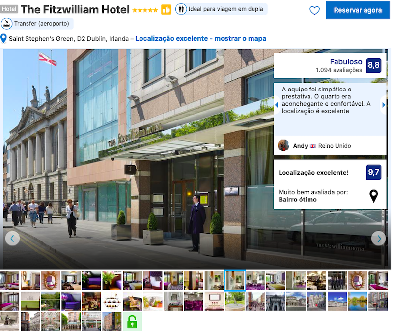 The Fitzwilliam Hotel em Dublin