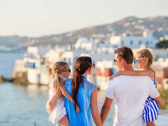 O que fazer com crianças em Mykonos