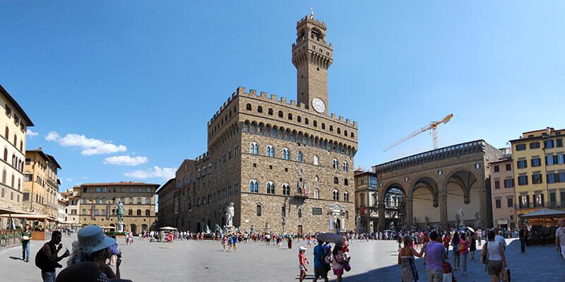 Piazza della Signoria em Florença