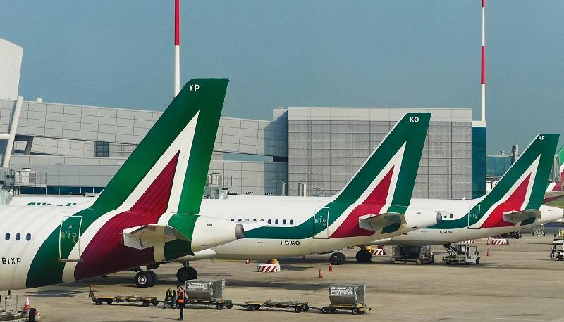 Aeroporto na Itália