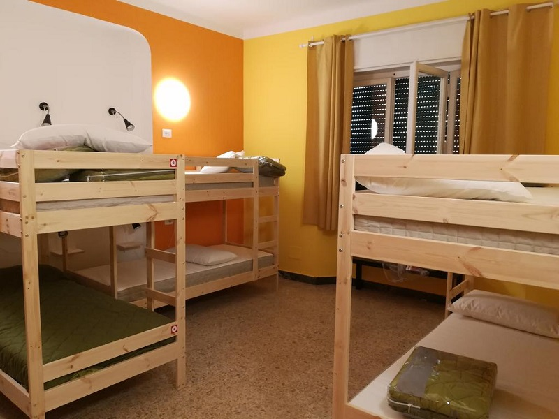 Quarto do Hostel Pisa Train Station Hostel