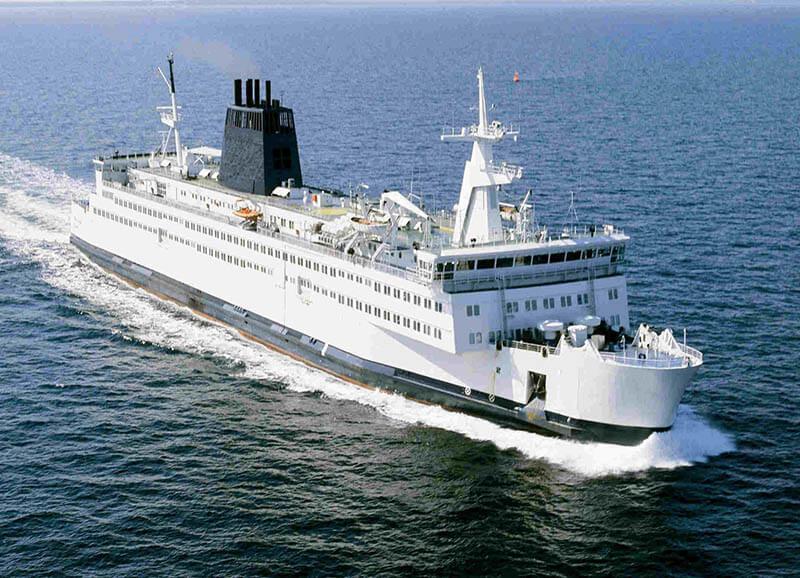 Embarcação da empresa European Seaways