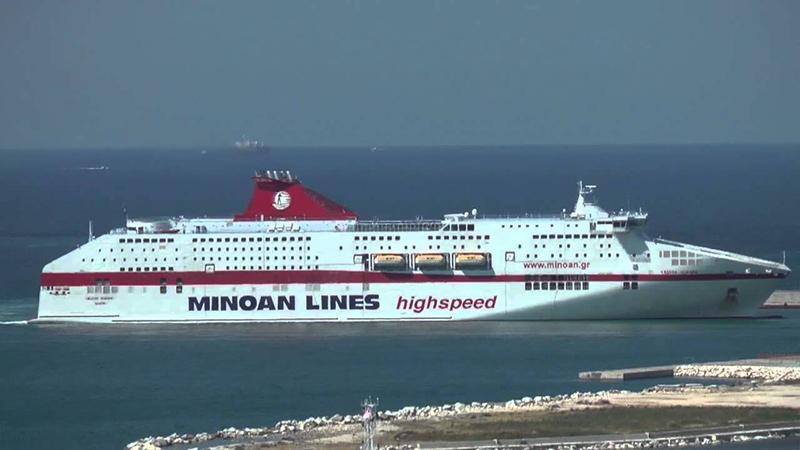 Ferry da empresa Minoan Lines
