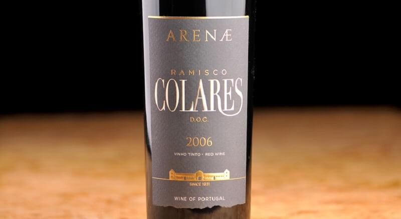 Vinho produzido na Adega Regional de Colares em Sintra