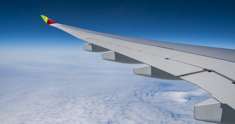 Asa de avião da TAP