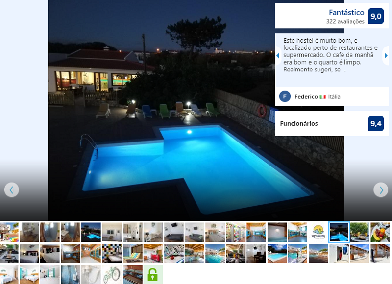 Piscina do Sagres Sun Stay - Surf Camp & Hostel
