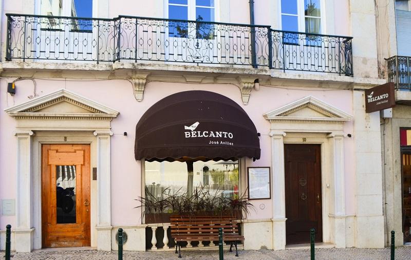 Exterior do Restaurante Belcanto