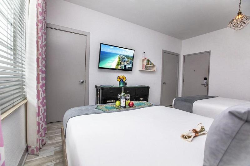 Quarto do Whitelaw Hotel em Miami