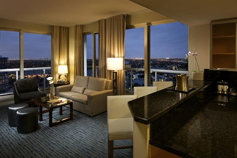 Quarto do Hotel Hilton Fort Lauderdale Beach Resort