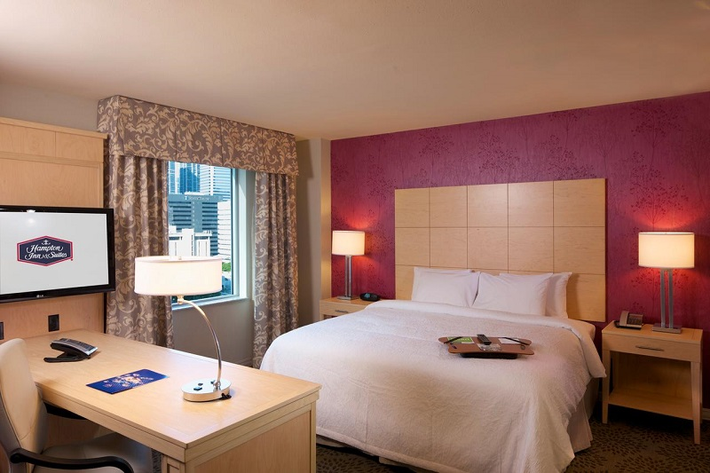 Quarto do Hampton Inn & Suites by Hilton em Miami