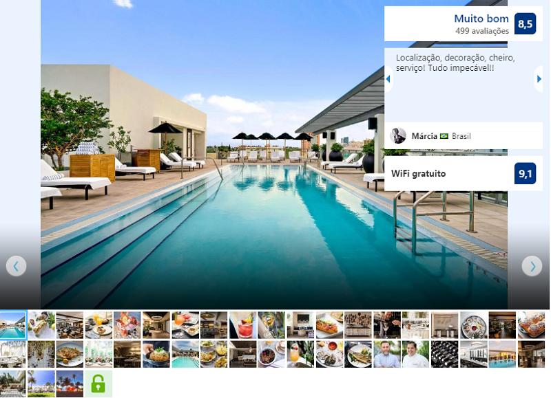 Piscina do Hotel Kimpton Angler's Hotel em Miami