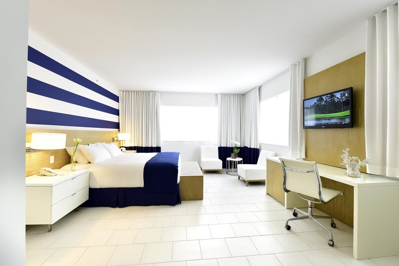 Quarto do Hotel Pestana Miami South Beach em Miami