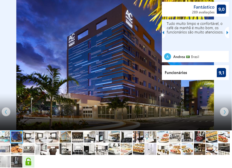 Fachada do hotel by Marriott Miami Airport West/Doral