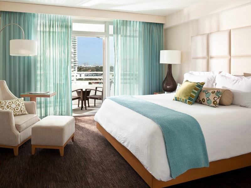 Quarto de hotel de luxo em Miami