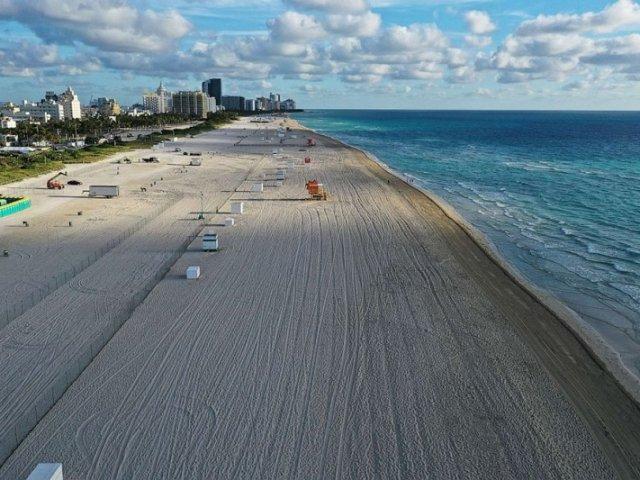 Calendário de reabertura covid-19 em Miami