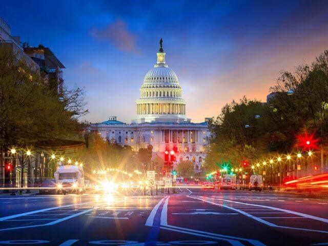 Como transferir dinheiro para Washington