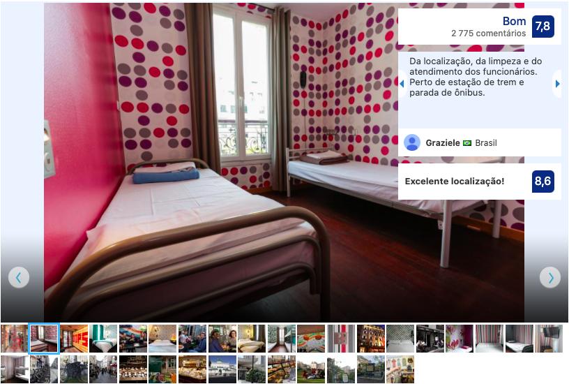 Oops Design Hostel em Paris